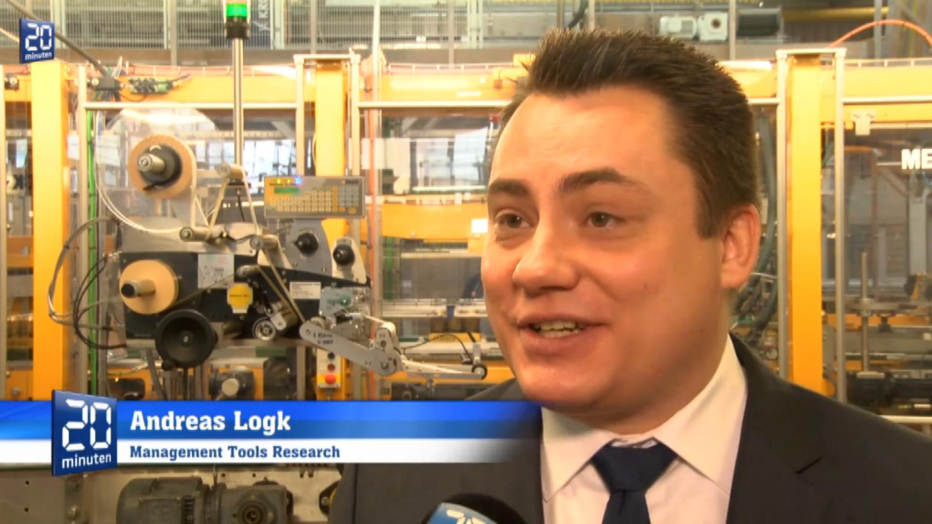 Andreas Logk im Interview mit 20 Minuten Online