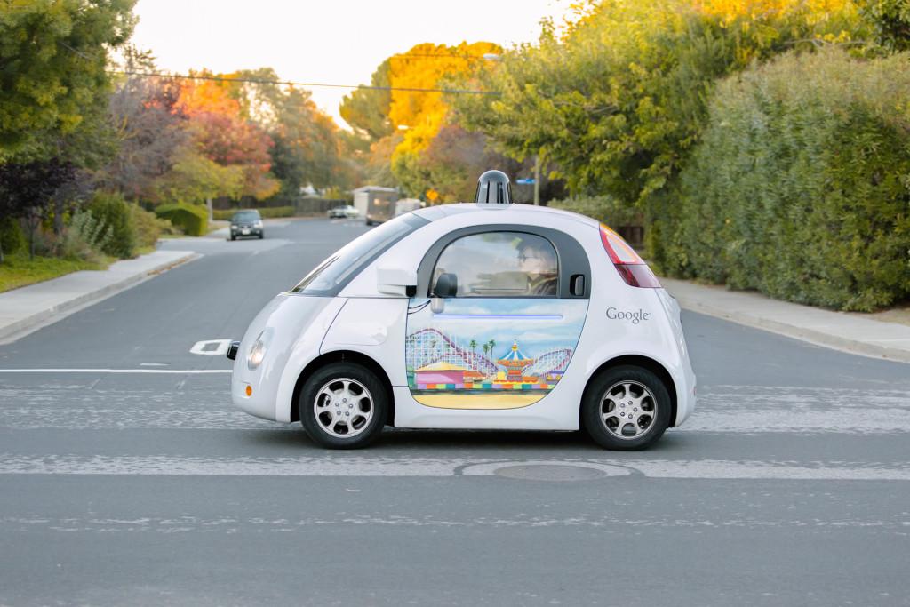 Google Selfdriving Cars verursacht ersten Crash